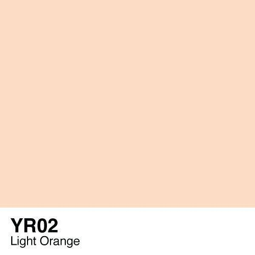 Copic marker - YR02 Light Orange