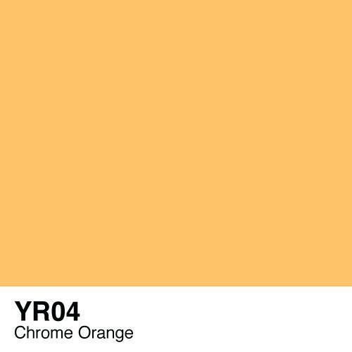 Copic marker - YR04 Chrome Orange