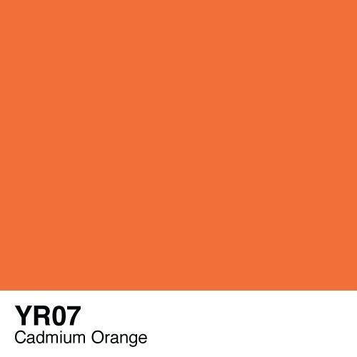 Copic marker - YR07 Cadmium Orange