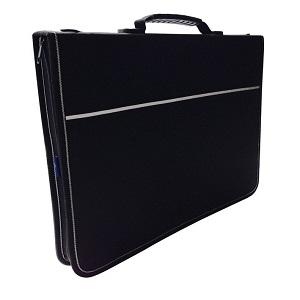 Quartz Portfolio met ringband - A3 Zwart