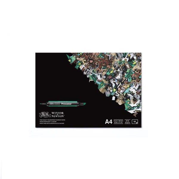 W&N Promarker Marker papier 70gram 50vel - Blok A4