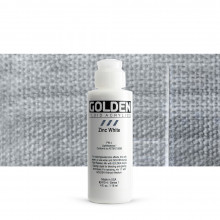Golden Fluid Acrylics 119ml - 2415 Zinc White (s1)
