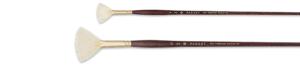 Panart Bristlewhite varkenshaar penseel waaier  - serie 2301