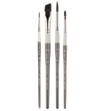Penselen SET 4x CoolCraft Synthetisch - CG-02